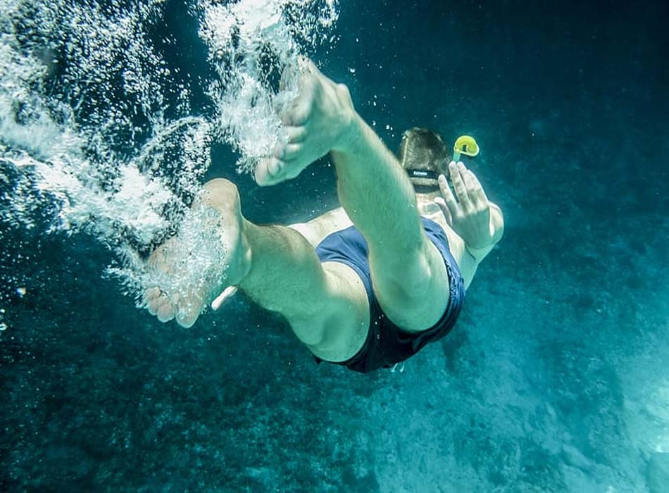Snorkeling Over the Age 60