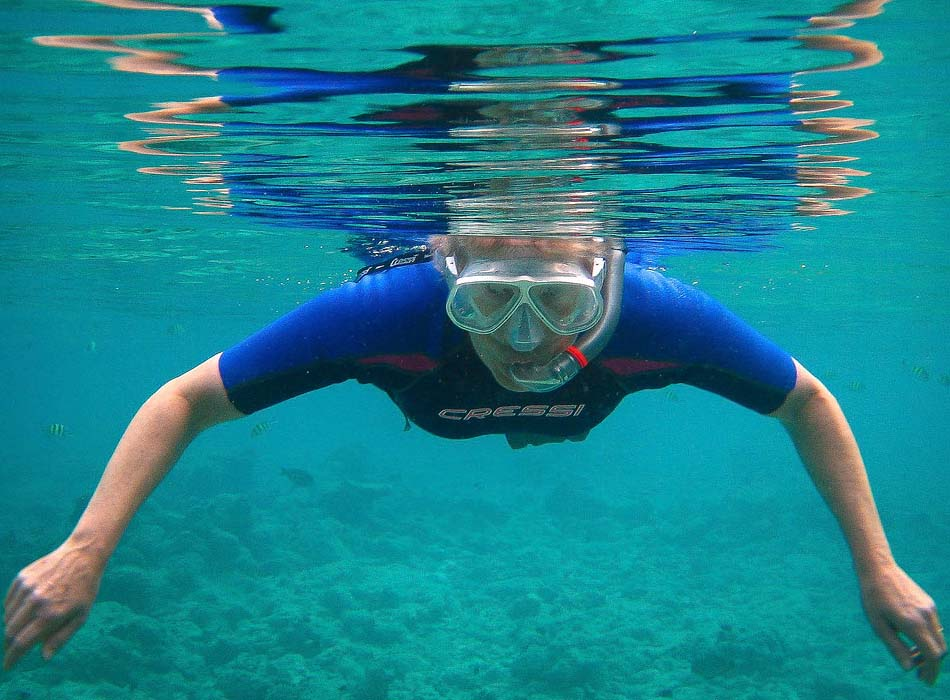 How to Fit a Snorkel Mask