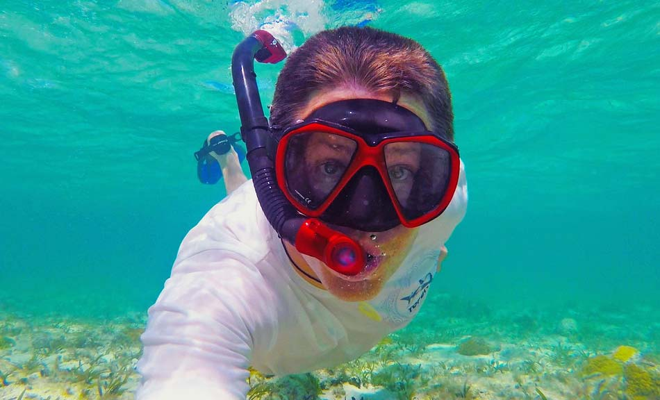 Snorkeling with Mask